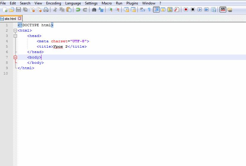 Изработка на сайт utf-8